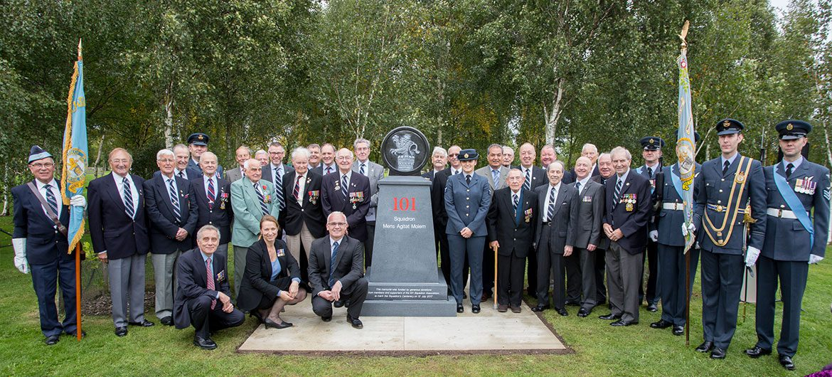 101 Squadron members past and present