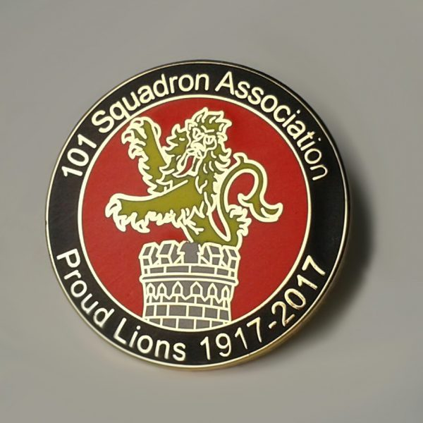 101 Squadron Association centenary badge