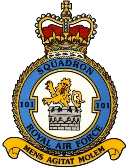 101 Squadron Crest