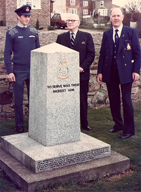 Flt Lt Andy Bray, AVM