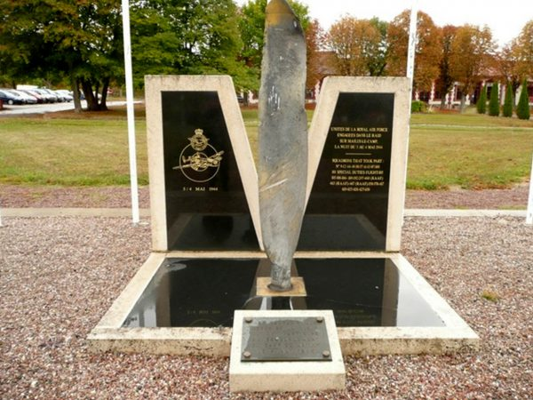 Mailly-le-Camp memorial