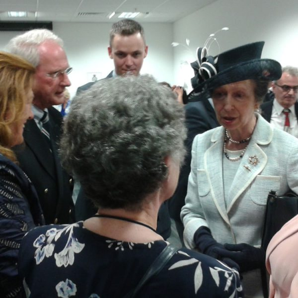 Centenary Celebrations : lunch with Princess Anne