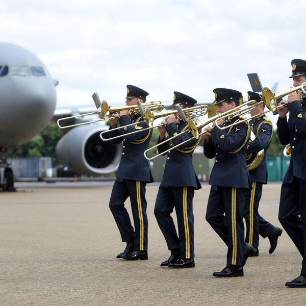 Centenary Celebrations : RAF band