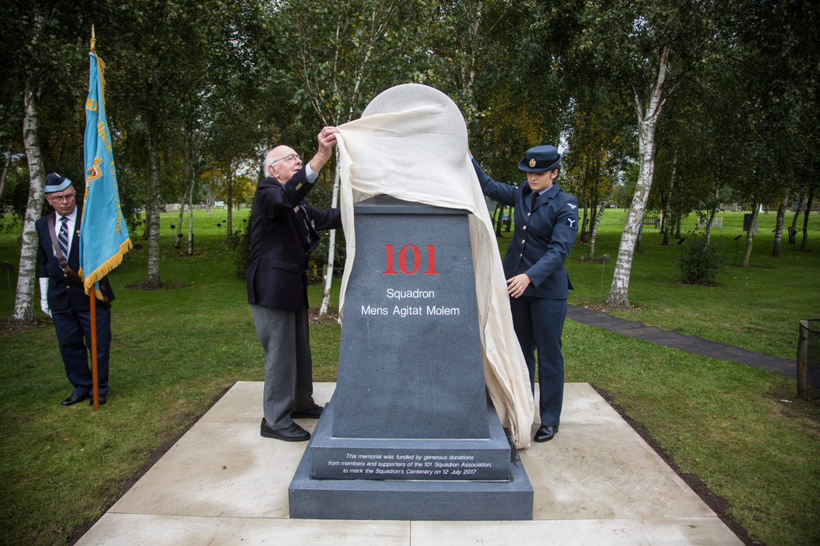 Unveiling of the Centenary Memorial
