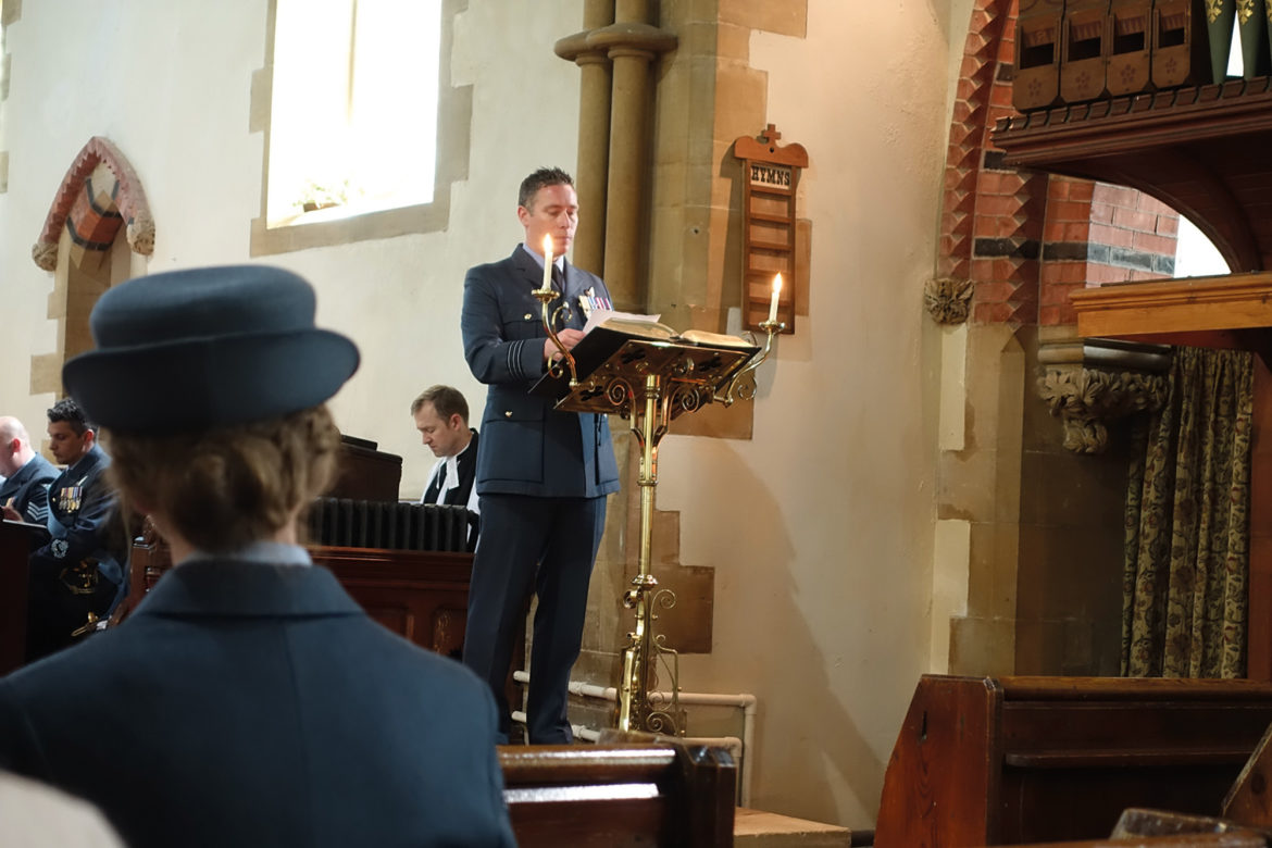 Ludford church service